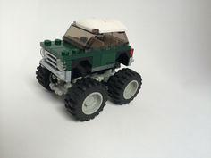 "https://flic.kr/p/oHU9oN | Lego Creator set #40109 Mini Cooper redux - ""Monster Mini"""