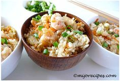 Chicken-shrimp Chinese Fried Rice