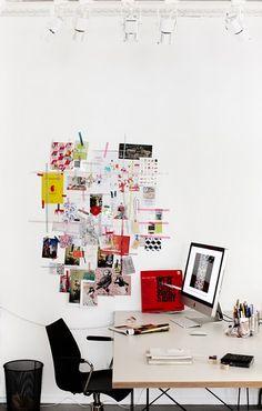 desk-side collage