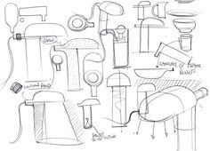 Benjamin Hubert Sketches - Container for Ligne Roset