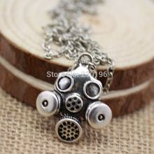 Doctor Who Gas Mask Necklaces Steampunk Neo Victorian Gothic Zombie Apocalypse Cyber Goth(China (Mainland))