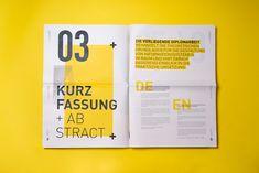 Orientierung im Raum, german for Page Layout Design, Magazine Layout Design, Graphic Design Layouts, Book Layout, Corporate Design, Typography Design, Lettering, Pub Design, Grid