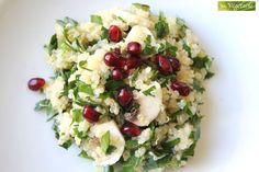 Quinoa inspiration libanaise (cette recette n'est absolument pas locavore)
