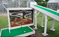 The Best Miniature Golf Holes in the World, Probably – DC's Indoor Miniature Golf, Outdoor Games, Outdoor Decor, Outdoor Projects, Mini Golf, Adventure Golf, Putt Putt Golf, Golf Card Game, Dubai Golf