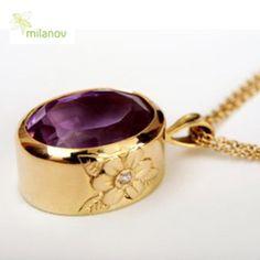 gold. ametist. diamonds. Milanov