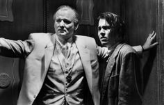 Bill Murray with Johnny Depp in Ed Wood