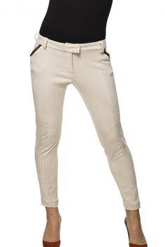 Pantalón en antelina modelo 108W-Derain