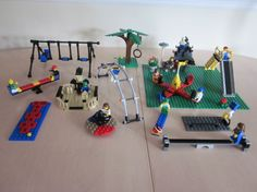 Hey, I found this really awesome Etsy listing at http://www.etsy.com/listing/155769366/lego-playgound-park-set-minifigures