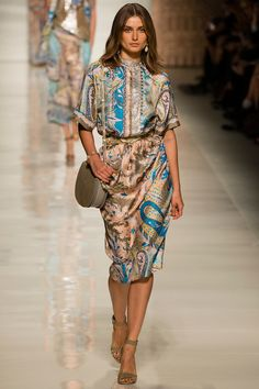 Etro Spring 2014 Ready-to-Wear Collection #stylewatch