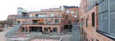 Aarhus, Henning Larsen architects, Schule Aarhus, Henning Larsen, Climbing, Arch, Articles, Street View, Community, Design, School