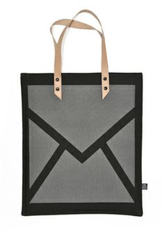 Not another bag front canvas tote bag with leather handles, http://www.stoerinstyle-shop.nl/a-29684325/one-must-dash/not-another-bag/