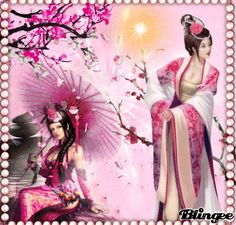 "blingee japanese ladies images | This ""fantasy"" picture was created using the Blingee free online photo ..."