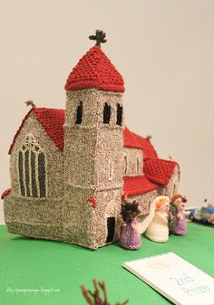knitted village - wow!