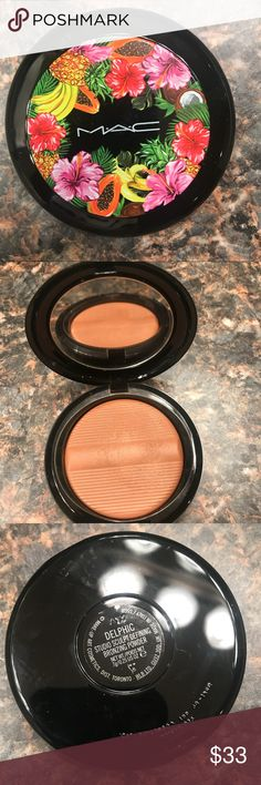 Mac Studio Sculpt Bronzing Powder Swatched once, too light for my skin complexion MAC Cosmetics Makeup Bronzer