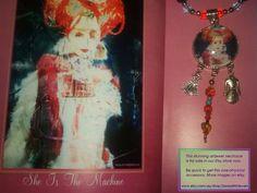 Art Jewel Necklace Handmade Jewelry Gifts  by SurrealArtJewels