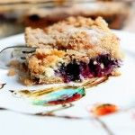 Blueberry Crumb Cake from Ree.   Incredible with just picked, fresh blueberries! Even the kids ate it! Yum.