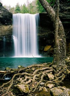 Greeter Falls East Tennessee
