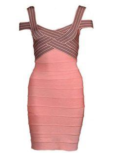 Zahanna Sleeveless Bandage Dress