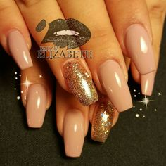 Acrylic tapered Nails