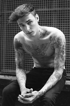 Boy and Tattoos