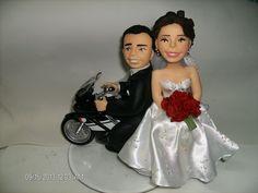 Noivos na moto