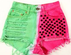 Watermelon shorts cute but they need to be a bit longer