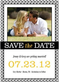 yet another save the date idea. :)