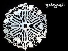 Harry Potter Snowflake by JenDrawsIt.deviantart.com on @DeviantArt
