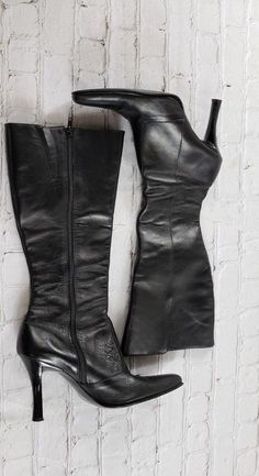 7a65c4c0a6a BARDO Black Knee High Boots Women s US Size 8 EUR 39