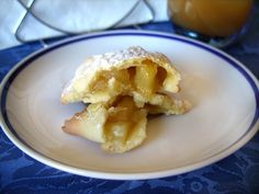 Viva la Creatività!: Ravioli dolci di Mele - Ravioles dulces con manzanas - Sweet ravioli with apples