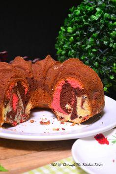 Through The Kitchen Door: Neapolitan Marble Cake