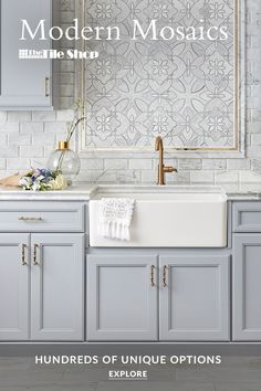 Visit The Tile Shop to find inspiration for your upcoming tile project. Visit our Design Studio, view tile galleries by room, or set up a free consultation with a tile expert. Kitchen Room Design, Interior Design Living Room, Kitchen Decor, Kitchen Ideas, Küchen Design, Layout Design, Design Ideas, Estilo Hampton, The Tile Shop