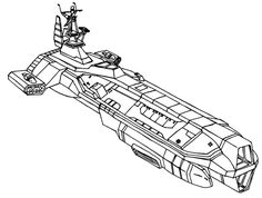Same as general shape as the Aurora but with two large Particle Beam Cannons for the macross beam massacre. Description from forums.spacebattles.com. I searched for this on bing.com/images