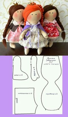 possible  pattern for Frida doll?