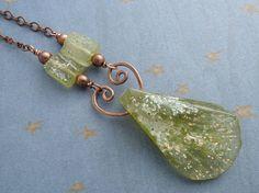 Roman glass and copper