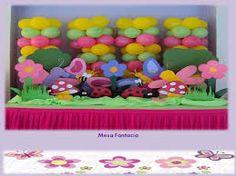 Resultado de imagen para fiesta infantil mariposas