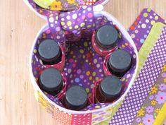 PERSONAL USE ONLY Essential Oils Bag/ Case Pattern by GirlRestored