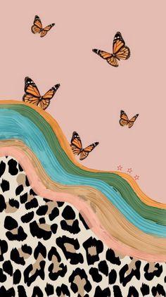 Iphone Wallpaper Vsco, Trippy Wallpaper, Wallpaper Stickers, Homescreen Wallpaper, Mood Wallpaper, Aesthetic Pastel Wallpaper, Iphone Background Wallpaper, Retro Wallpaper, Cartoon Wallpaper