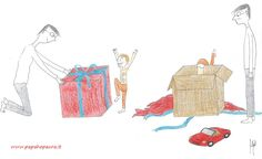 Fare troppi #regali di #Natale è un abuso nei confronti dei #figli?
