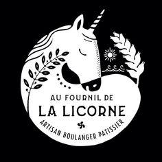 Logo par Lucky Left Hand / Steven Burke by karla Typo Logo, Logo Branding, Branding Design, Logo Inspiration, Illustrations, Graphic Illustration, Unicorn Logo, Logos, Horse Logo