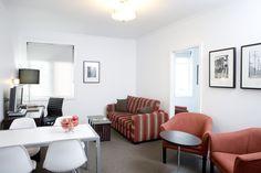 Lounge in 2 bedroom standard apartment