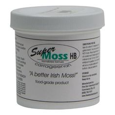 Super Irish Moss- 4 oz. Jar by Midwest Homebrewing and Winemaking Supplies. $13.99. Super Moss HB was developed by Five Star Chemical for use in breweries around the world. This moss is a proprietary blend of negatively charged, red seaweed based, Kapa and Lambda carrageenans. It is designed to attract the positively charged haze forming proteins together in the brew kettle and primary fermenter, then settle out. Super Moss HB helps prevent chill haze. Add 1/4 t...