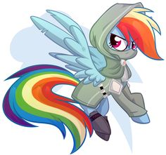 Rainbow Dash Rogue by Starlet8228.deviantart.com on @DeviantArt