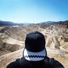 "Sunny day in the desert. 💥 #VinylandWood #GetLostinWonderland #Recreate #wooden #snapback #fashion…"""