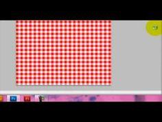 Scrapbook digital: tutorial para hacer papel para scrapbook en photoshop