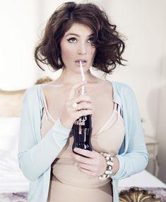 Gemma Arterton Portrait Fashion Hunger