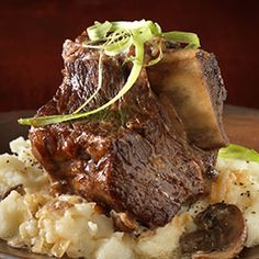 Mushroom Cream Braised Beef Short Rib | Private Selection™ Gourmet Recipes | Private Selection™
