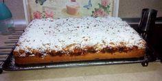 Κοινοποιήστε στο Facebook Για τη ζύμη 200 γρ.σπορέλαιο ξύσμα και χυμό από 2 πορτοκάλια 200 γρ. ζάχαρη 500 γρ. αλεύρι γ.ο.χ. 1 κ.σ. γεμάτημπέικιν πάουντερ Για τη γέμιση 5 μήλα 1 κ.σ. χυμό λεμόνι 150 γρ. ζάχαρη 100 γρ. ξηρούς... Greek Recipes, Butter Dish, Vanilla Cake, Banana Bread, Favorite Recipes, Vegan, Dishes, Desserts, Food