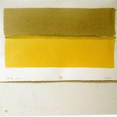 "Grafik Ravn, Inge Lise Tusch-billede ""Fanø-horisonter"" Graphics, Yellow, Graphic Design, Charts"