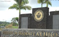 University of Hawaii at Hilo....where I spent the fall semester in 1990.